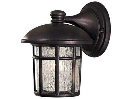 Minka Lavery Cranston Heritage Glass Outdoor Wall Light