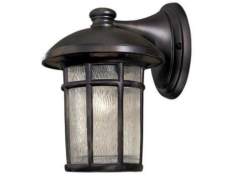 Minka Lavery Cranston Heritage Glass Outdoor Wall Light