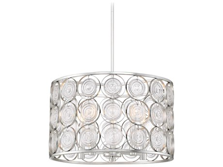 Minka Lavery Culture Chic Catalina Silver 20'' Wide Glass Mini Chandelier MGO4666598
