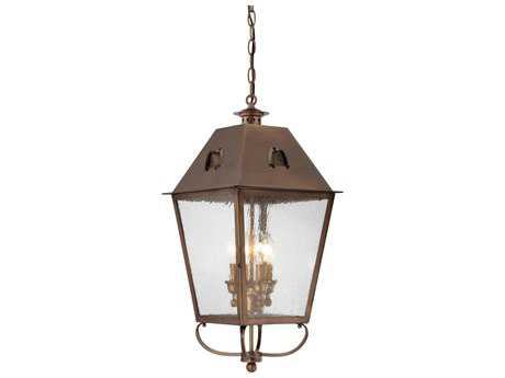 Minka Lavery Edenshire English Brass Outdoor Hanging Light