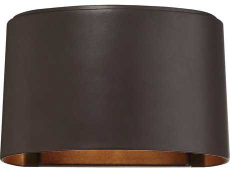 Minka Lavery Everton Dorian Bronze Industrial LED Outdoor Wall Light