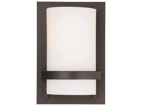 Minka Lavery Fieldale Lodge Smoked Iron Glass Wall Sconce MGO342172