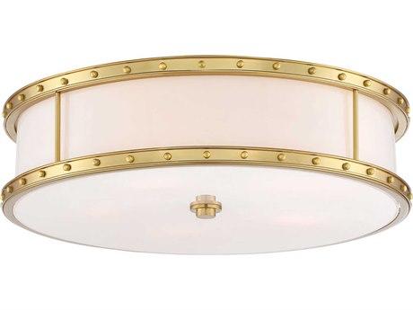 Minka Lavery Liberty Gold 20'' Wide Glass Flush Mount Light