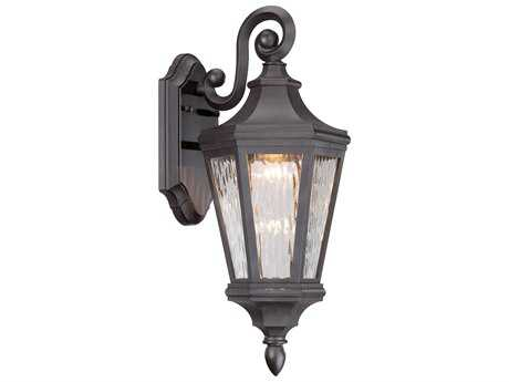 Minka Lavery Handford Pointe Oil Rubbed Bronze Glass LED Outdoor Wall Light MGO71821143L