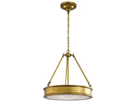 Minka Lavery Harbour Point Liberty Gold 19'' Wide Pendant MGO4173249