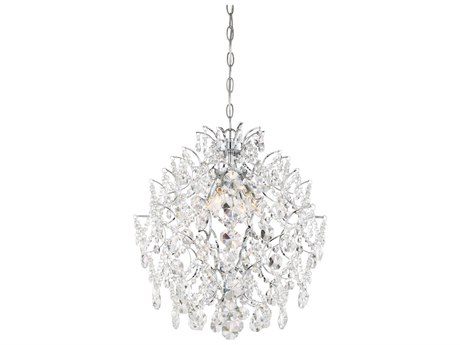 Minka Lavery Isabella Crown Chrome 18'' Wide Crystal Pendant MGO315677
