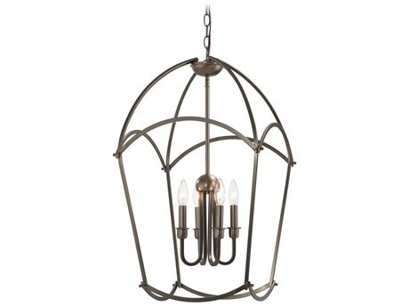 Minka Lavery Jupiters Canopy Harvard Court Bronze 17'' Wide Mini Chandelier MGO4774281