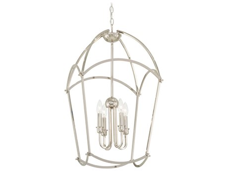 Minka Lavery Jupiters Canopy Polished Nickel 17'' Wide Mini Chandelier MGO4774613