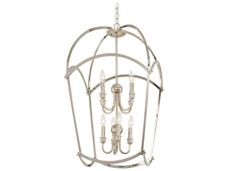 Minka Lavery Jupiters Canopy Polished Nickel 19'' Wide Mini Chandelier MGO4778613
