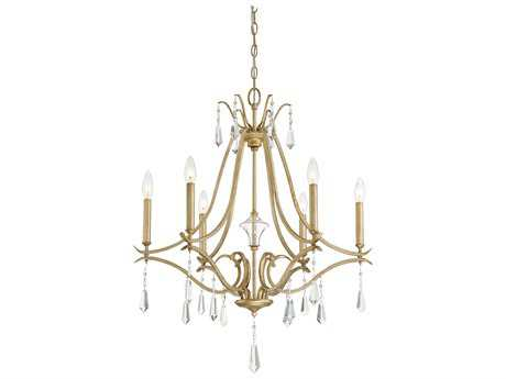 Minka Lavery Laurel Estate Brio Gold Medium Chandelier MGO4446582