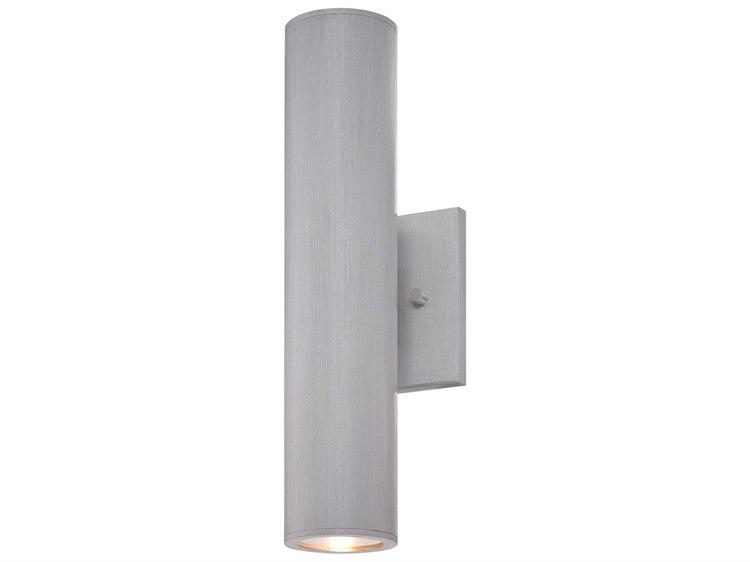 Minka Lavery Led Brushed Aluminum Industrial LED Outdoor Wall Light