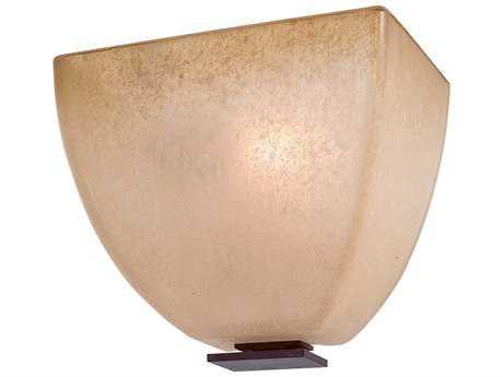 Minka Lavery Lineage Iron Oxide Glass Wall Sconce MGO1270357