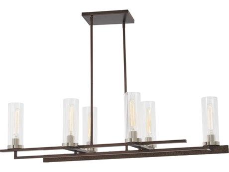 Minka Lavery Maddox Roe Iron Ore / Gold Dust Highlight 45'' Wide Glass Island Light MGO4606101