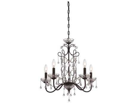 Minka Lavery Kinston Bronze 22'' Wide Mini Chandelier
