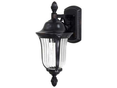 Minka Lavery Morgan Park Heritage Glass Outdoor Wall Light