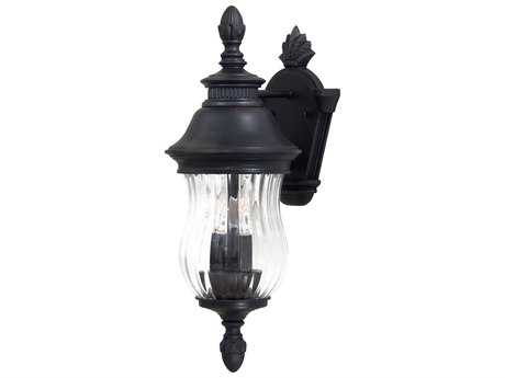 Minka Lavery Newport Heritage Glass Outdoor Wall Light