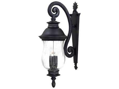 Minka Lavery Newport Heritage Glass Outdoor Wall Light