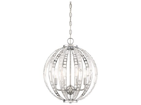 Minka Lavery Palermo Chrome 16'' Wide Crystal Mini Chandelier MGO237677