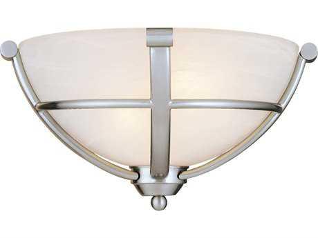 Minka Lavery Paradox Brushed Nickel Glass Wall Sconce MGO142084