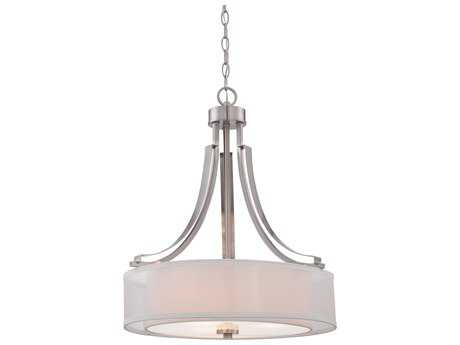 Minka Lavery Parsons Studio Brushed Nickel 20'' Wide Pendant MGO410484