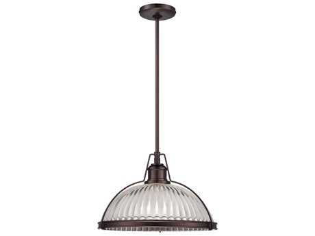 Minka Lavery Dark Brushed Bronze (Plated) 16'' Wide Pendant MGO2243267C
