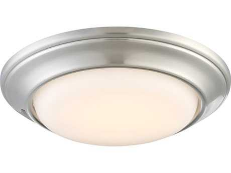 Minka Lavery Brushed Nickel Glass LED Recessed Light MGO271884L