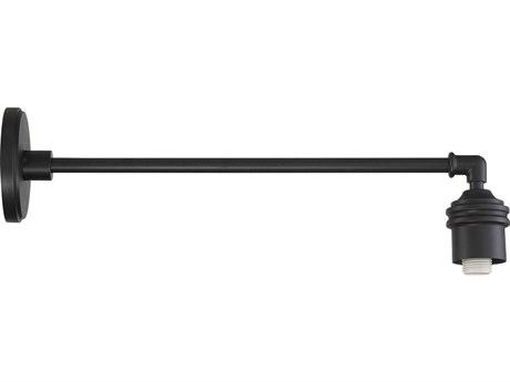 Minka Lavery Rlm Black 1-light 22'' Depth Outdoor Wall Light