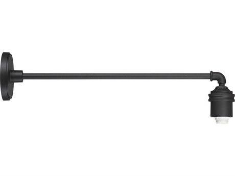 Minka Lavery Rlm Black 1-light 29'' Depth Outdoor Wall Light
