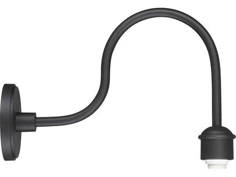 Minka Lavery Rlm Black 1-light 18'' Depth Outdoor Wall Light