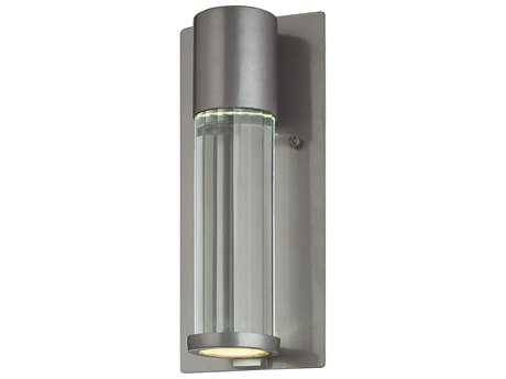 Minka Lavery Soare Tinted Silver Glass Outdoor Wall Light