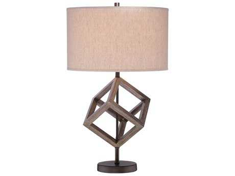 Minka Lavery Walnut Table Lamp MGO124330