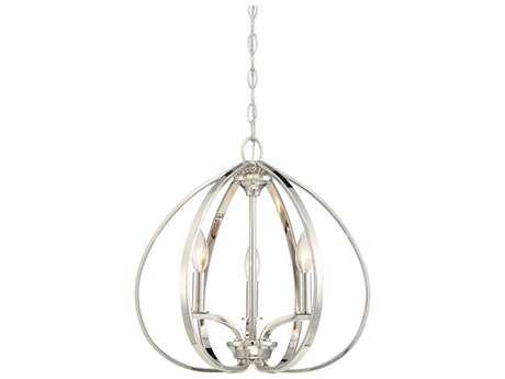 Minka Lavery Tilbury Polished Nickel Mini Chandelier MGO4982613