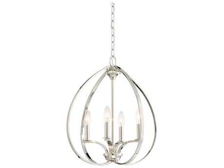 Minka Lavery Tilbury Polished Nickel Mini Chandelier MGO4984613