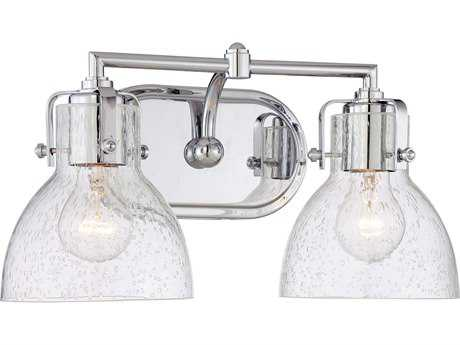 Minka Lavery Chrome Glass Vanity Light MGO572277