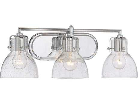 Minka Lavery Chrome Glass Vanity Light MGO572377