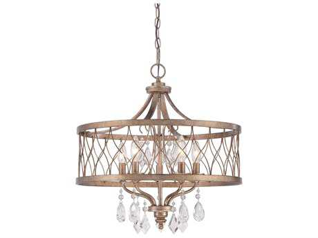 Minka Lavery West Liberty Olympus Gold 20'' Wide Mini Chandelier MGO4404581