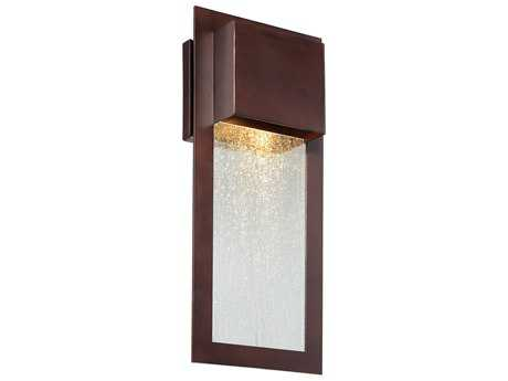 Minka Lavery Westgate Alder Bronze Glass Outdoor Wall Light