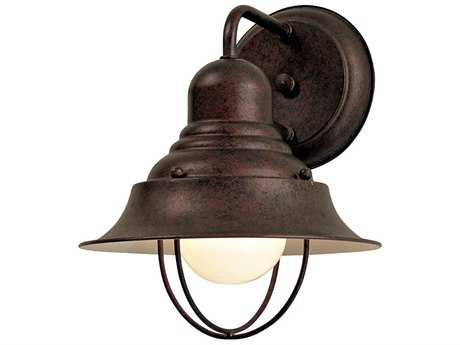 Minka Lavery Wyndmere Antique Bronze Outdoor Wall Light