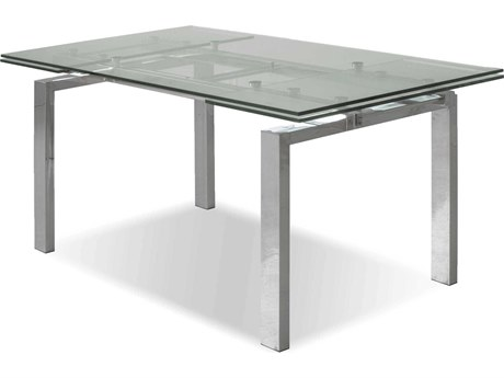 Mobital Cantro Steel 63 x 36 Dining Table