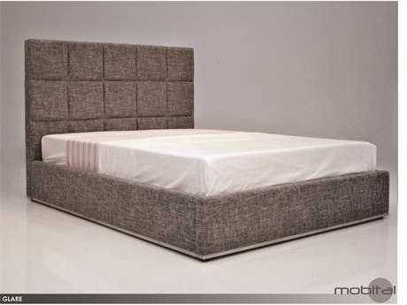 Mobital Glare Grey Storage King Bed MBBEDGLARFAGRKSTOR