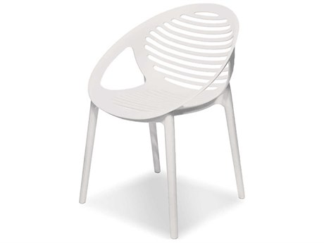 Mobital Gravely White Arm Dining Chair (Sold in 4)
