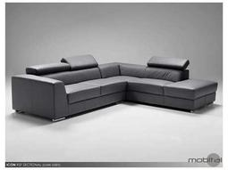 Icon Dark Grey Sectional Right Chaise