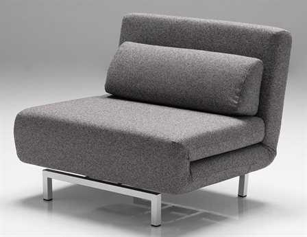 Mobital Iso Charcoal Tweed Chair-Bed