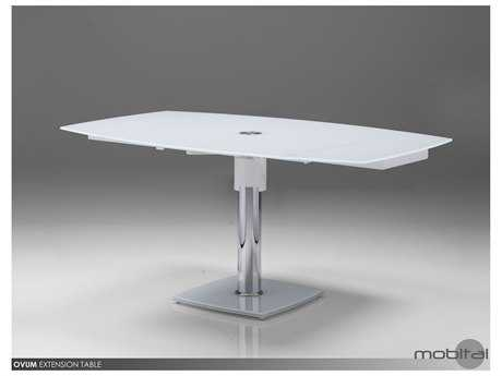 Mobital Ovum Pure White 35'' Dining Table