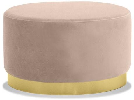 Mobital Pillbox Blush / Gold Ottoman MBLPOPILLBLUSLOW99