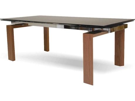 Mobital Tottenham Smoke & Walnut 83 x 39 Dining Table