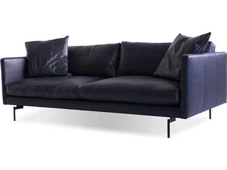 Mobital Tux Black Sofa Couch