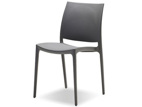 Mobital Vata Grey Dining Chair (Sold in 4)