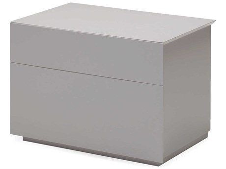 Mobital Vex Stone Two Drawer Night Table