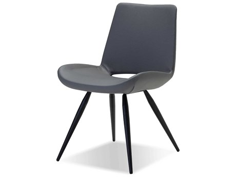 Mobital William Grey Ultra Leatherette Dining Chair (Sold in 2) MBDCHWILLGREY